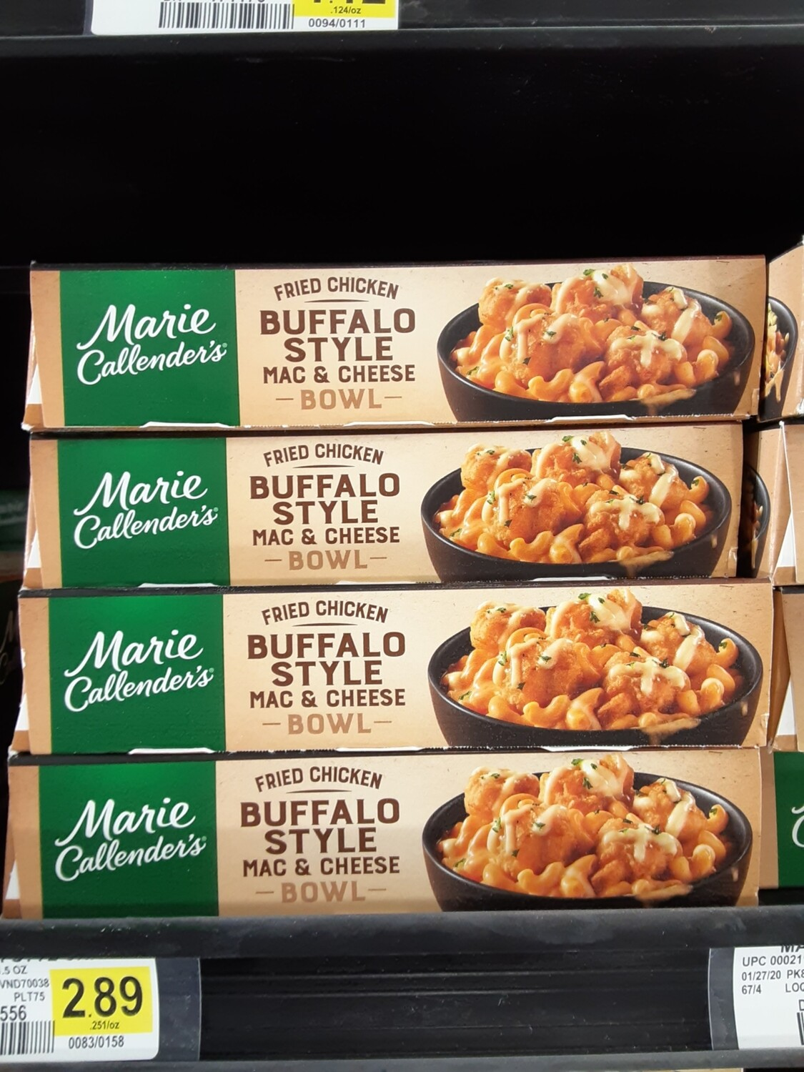 Cash Saver: Marie Callender Fried Chicken Buffalo Style Mac & Cheese Bowl