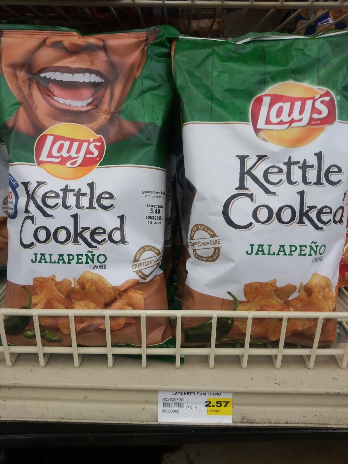 Cash Saver: Lay's Kettle Cooked Jalapeno