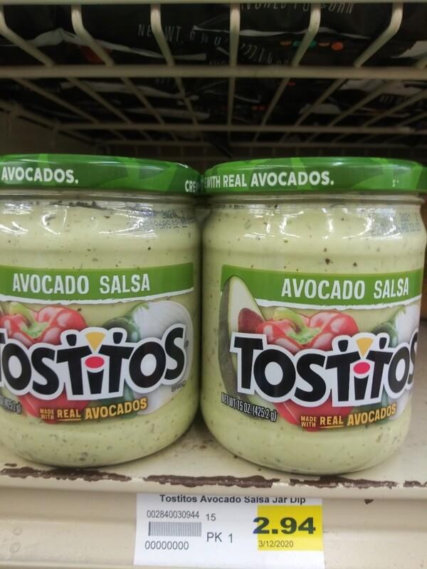 Cash Saver: Tostitos Avacado Salsa