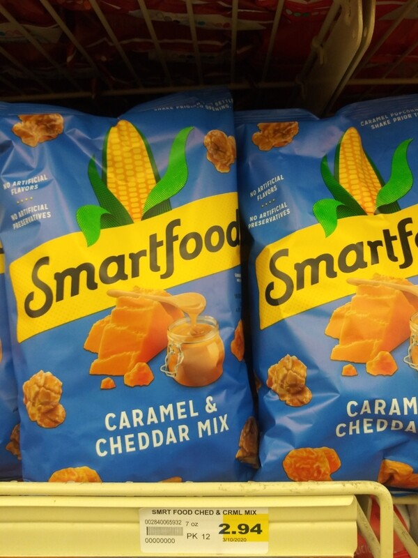 Cash Saver: Smartfood Caramel & Cheddar Mix