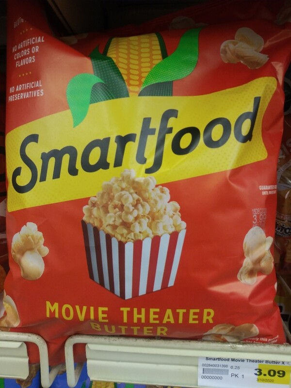Cash Saver: Smartfood Movie Theater Butter