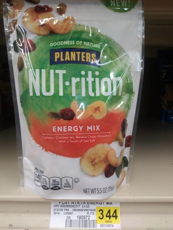 Cash Saver: Planters Nutrition Energy Mix