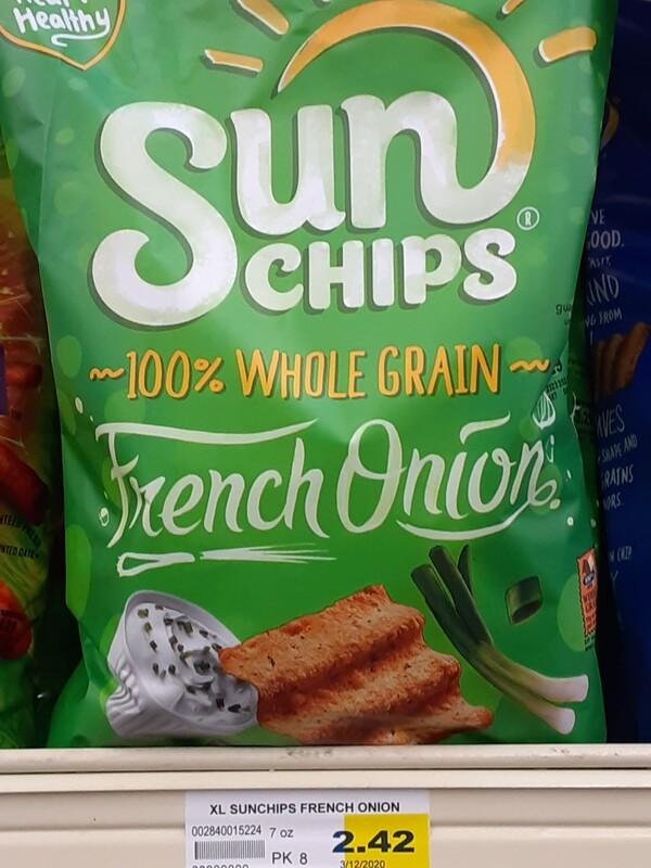 Cash Saver: Sun Chips French Onion 7oz