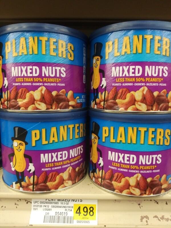 Cash Saver: Plantees Mixed Nuts