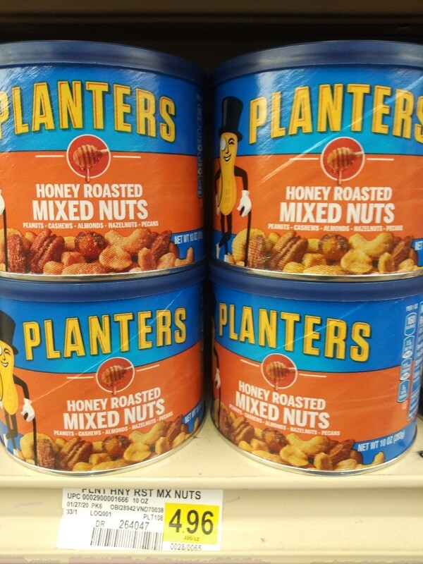 Cash Saver: Planters Honey Roasted Mixed Nuts