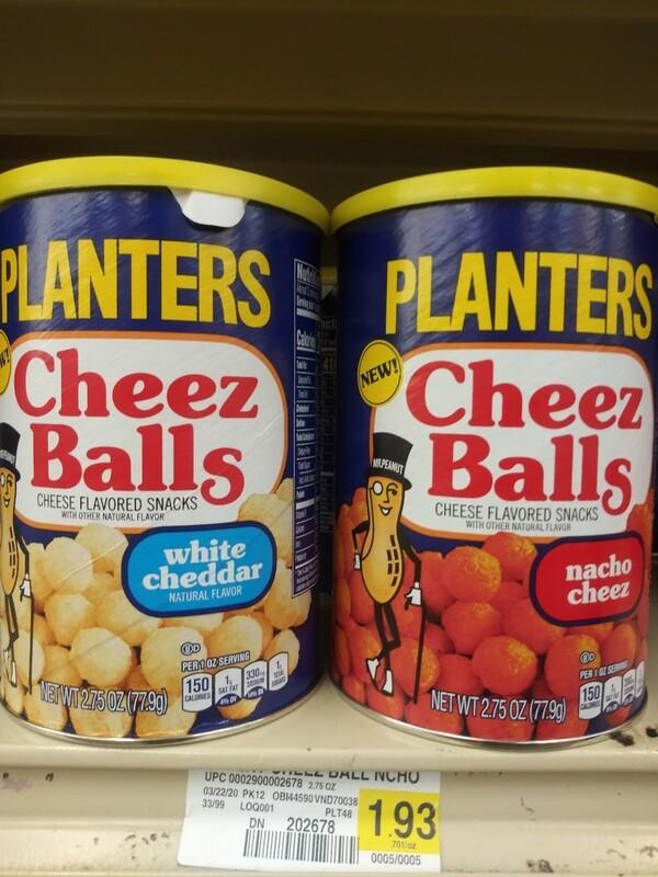 Cash Saver: Planters Cheez Balls