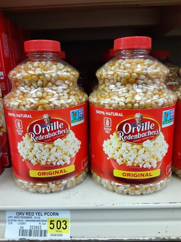 Cash Saver: Orville Redenbachers Popcorn Kernels