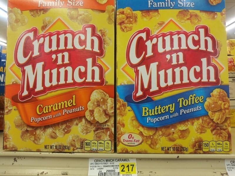 Cash Saver: Crunch N Munch