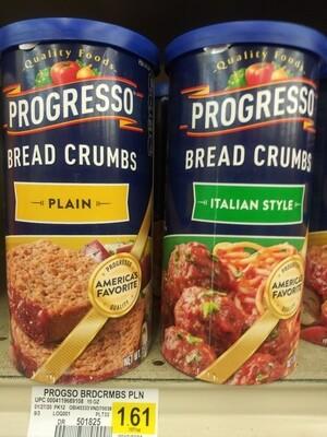 Cash Saver: Progresso Bread Crumbs