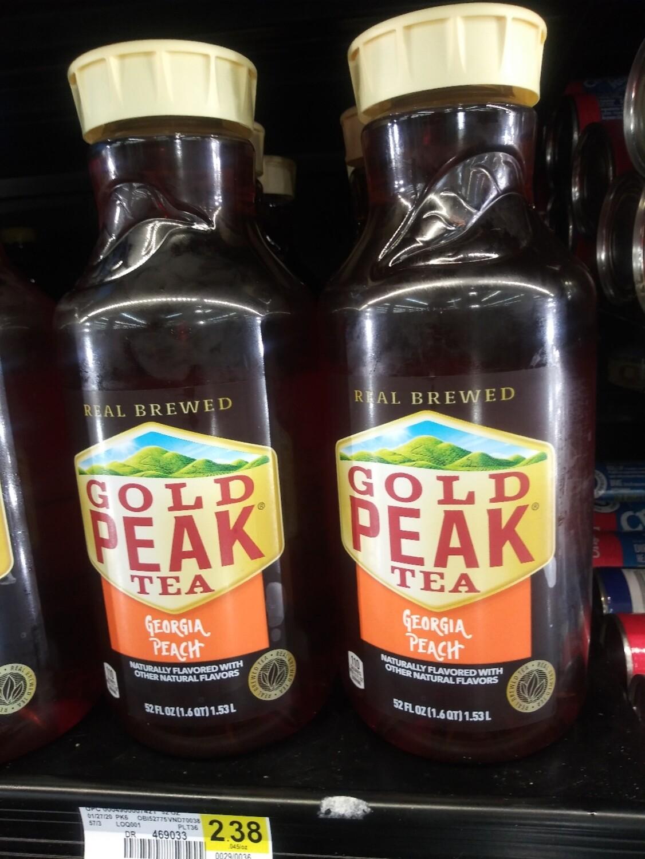 Cash Saver: Gold Peak Tea Georgia Peach 52 floz