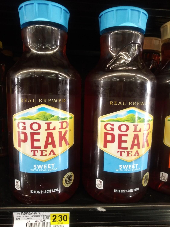 Cash Saver: Gold Peak Sweet Tea 52floz