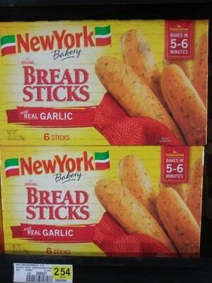 Cash Saver: New York Bread Sticks