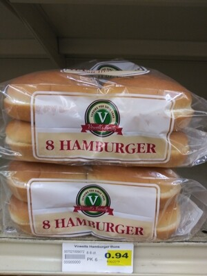 Cash Saver: Vowell's Hamburger Bun