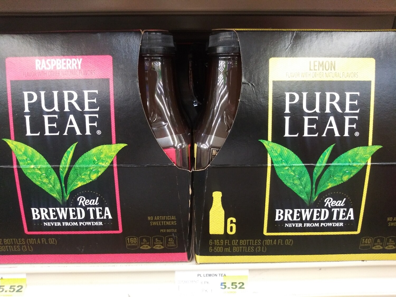 Cash Saver: Pure Leaf Brewed Tea 6 pack
