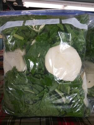 Farmers Market: Turnips w/Root