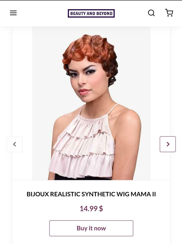 BIJOUX Realistic Synthetic Wig Mama II