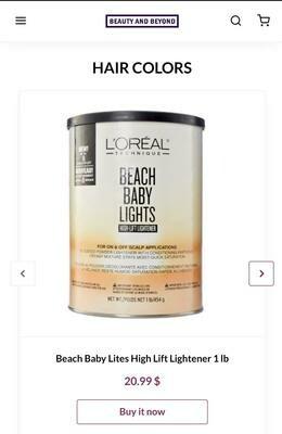 Beach Baby Lites High Lift Lightener 1lb