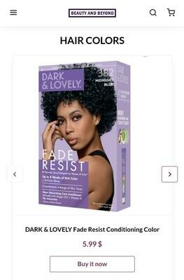 Dark & Lovely Fade Resist Conditioning Color