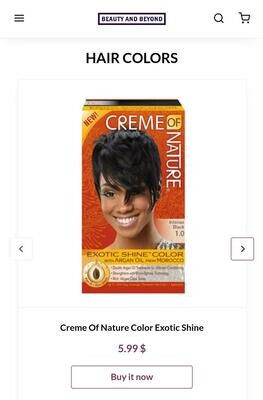 Creme Of Nature Color Exotic Shine