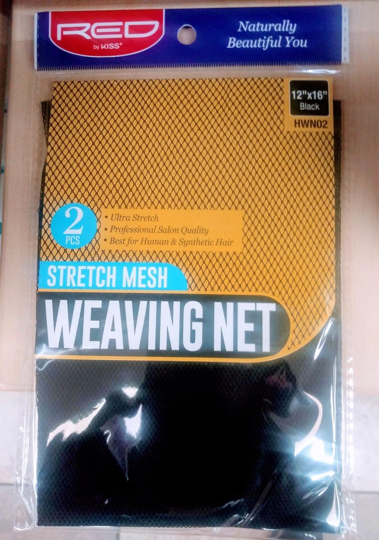 Red 2 Stretch Mesh Weaving Net