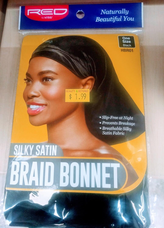 Silky Satin Braid Bonnet