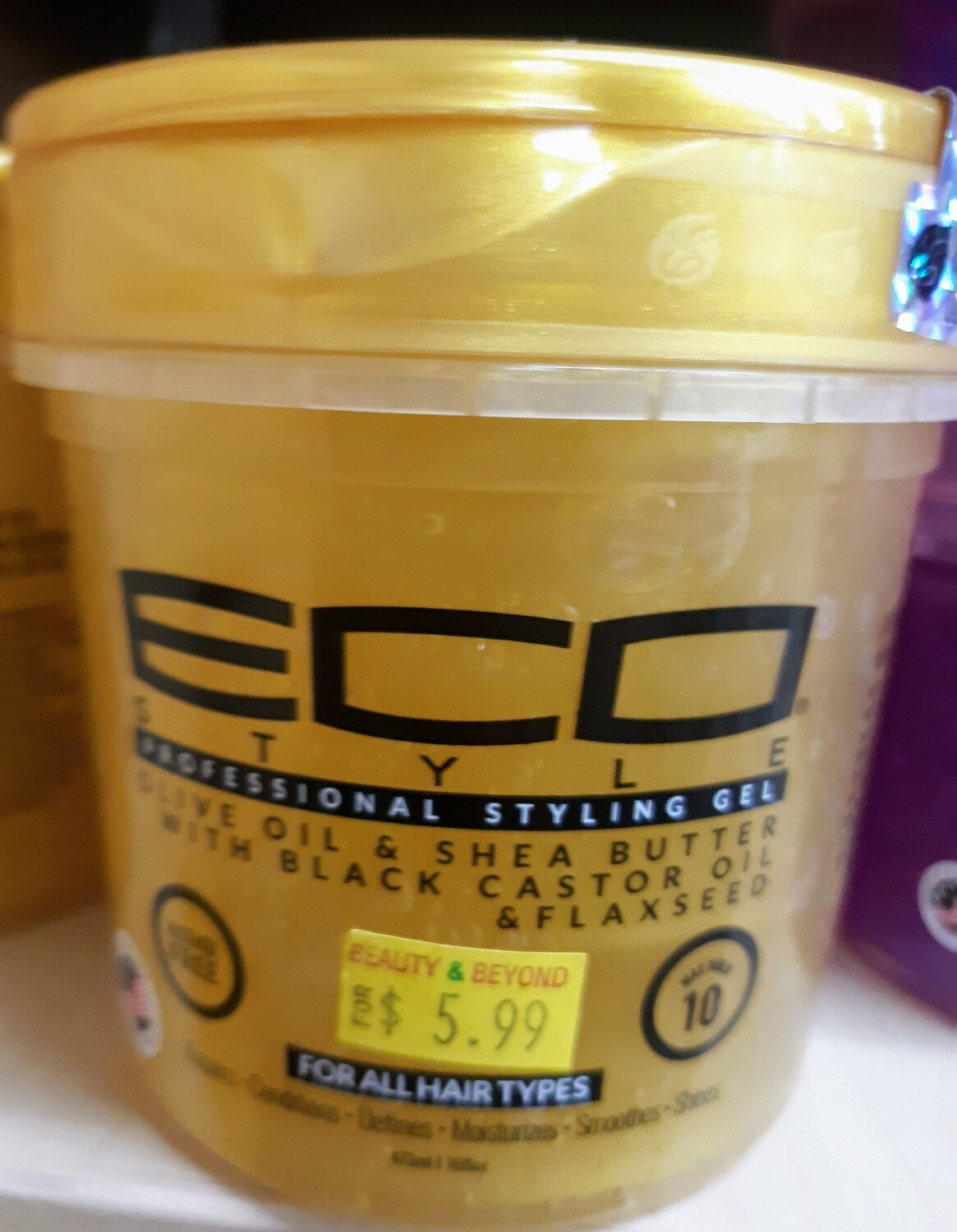 ECO Gel Gold (Shea Butter, Black Seed Oil, Flaxseed)