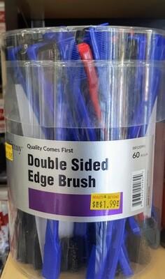 Double Sided Edge Brush