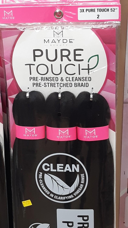 "MAYDE Pure Touch Braid Hair 52"""