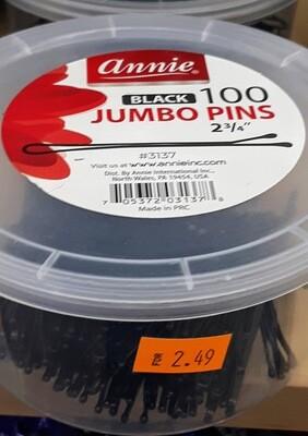 Jumbo Pins (Black)