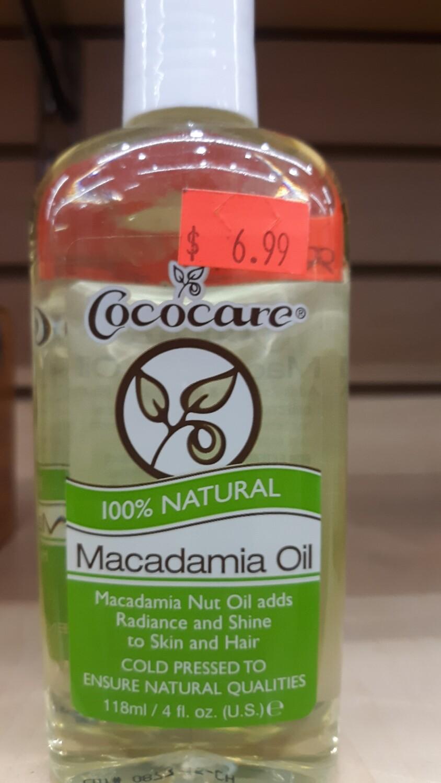 Cococare Macadamia Oil