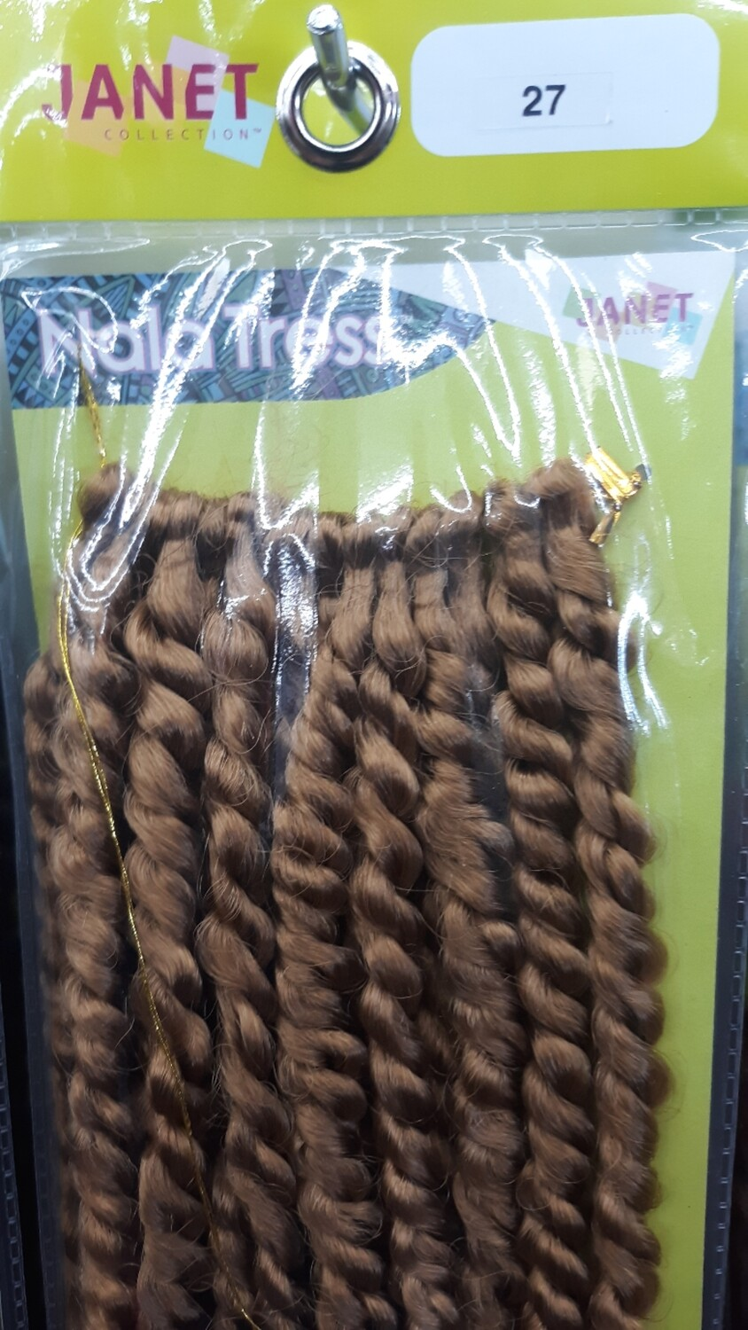 """Janet Collection 2x Senegal Curly Finish 14"""" (27)"""