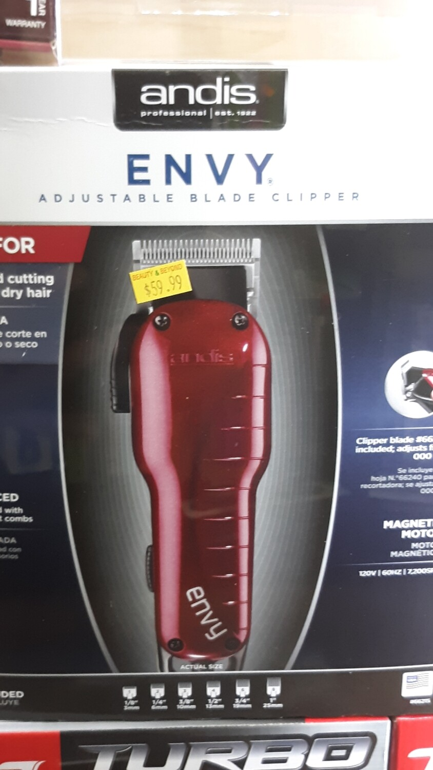 Andis Professional Envy Adjustable Blade Clipper