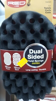 Red by Kiss Dual Sided Twist Sponge Jumbo