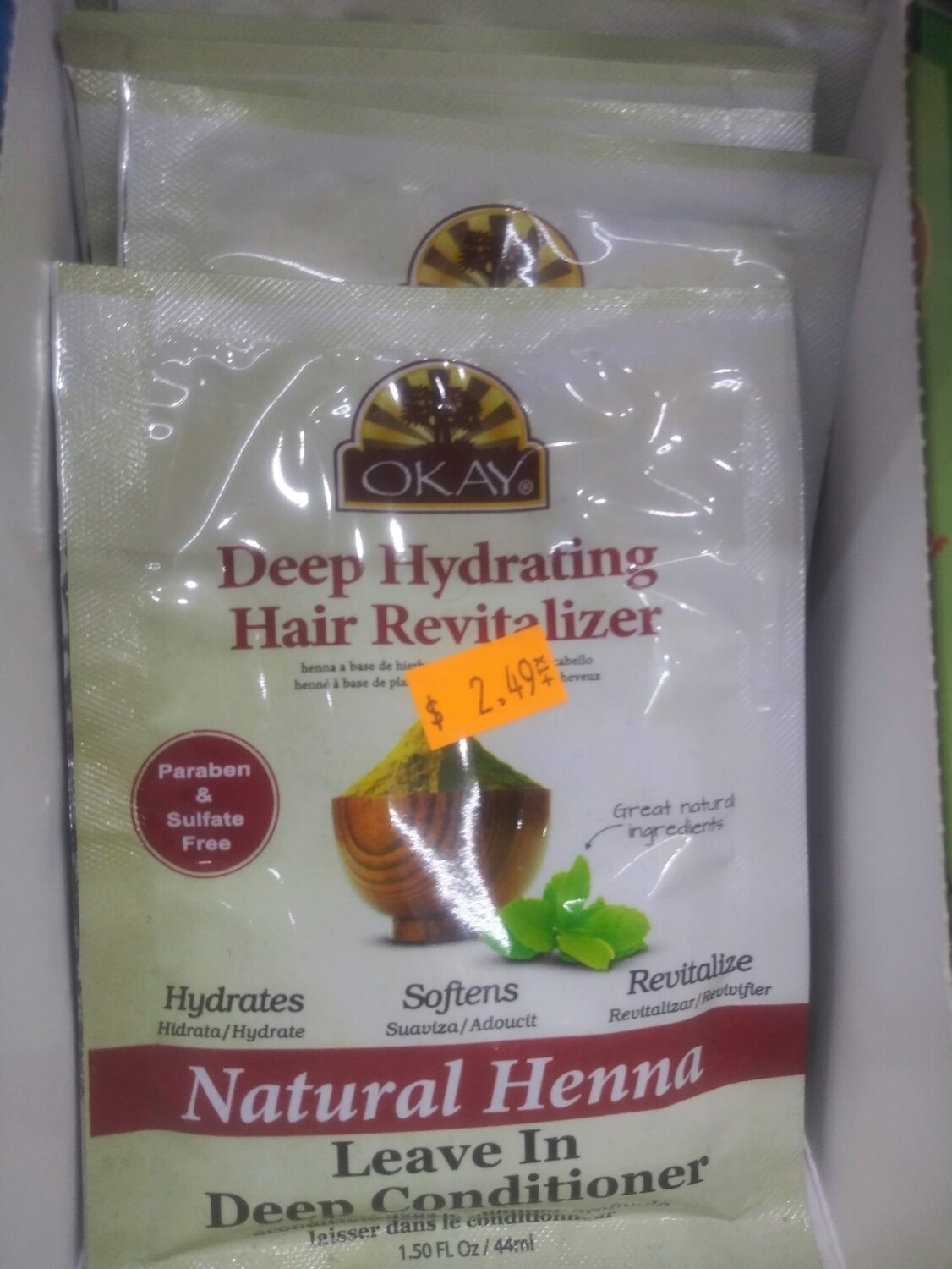 Okay Deep Hydrating Hair Revitalizer Leave In Conditioner