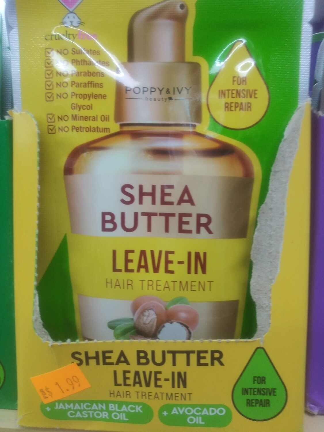 Poppy&Ivy Shea Butter Leave-In Hair Treatment