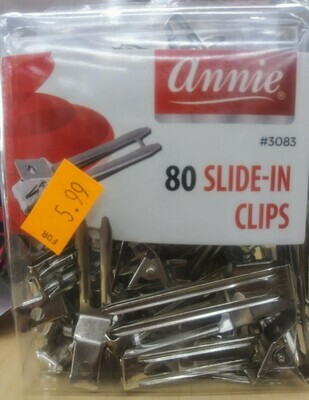 Annie Slide-In Clips (80)
