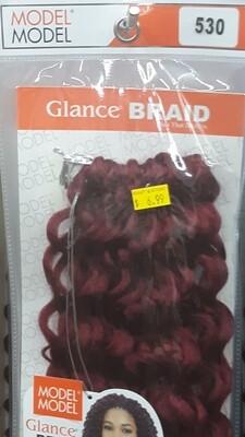 """Glance Braid Beach Hair 16"""" (530)"""