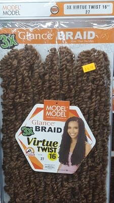"Glance Braid Virtue Twist 16"" (27)"