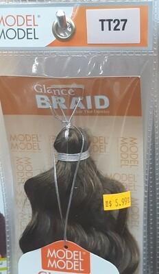 """Glance Braid Beach Hair 16"""" (TT27)"""