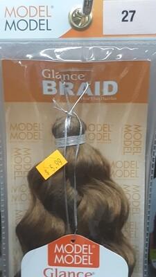 """Glance Braid Beach Hair 16"""" (27)"""