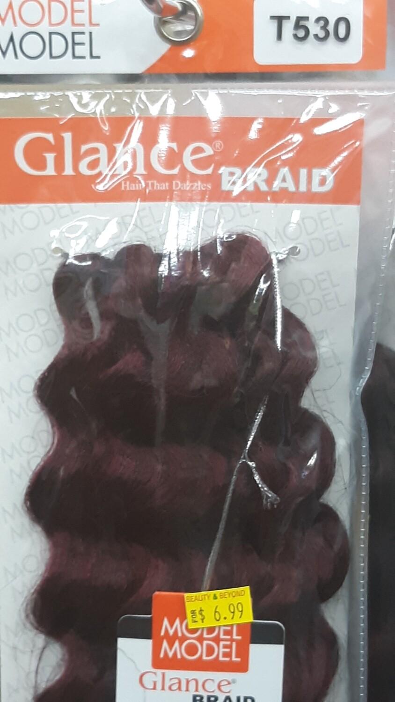 """Glance Braid Beach Hair 16"""" (T530)"""