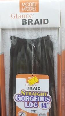 "Glance Braid Straight Gorgeous Locs 14"" (OT27)"