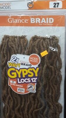 """Glance Braid Wavy Gypsy Locs 12"""" (27)"""