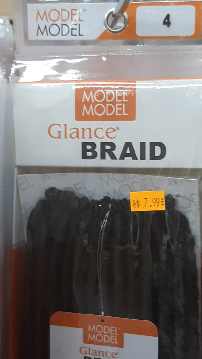 "Glance Braid Straight Locs 18"" (4)"