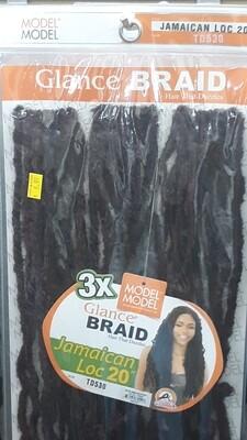 """Glance Braid Jamaican Locs 20"""" (TD530)"""