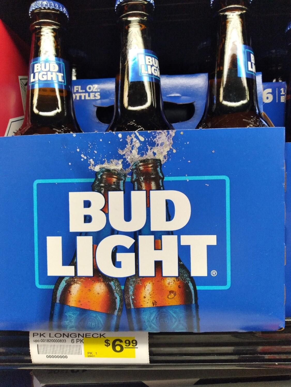 Bud Light (6, 12, 18, 24 Pack )