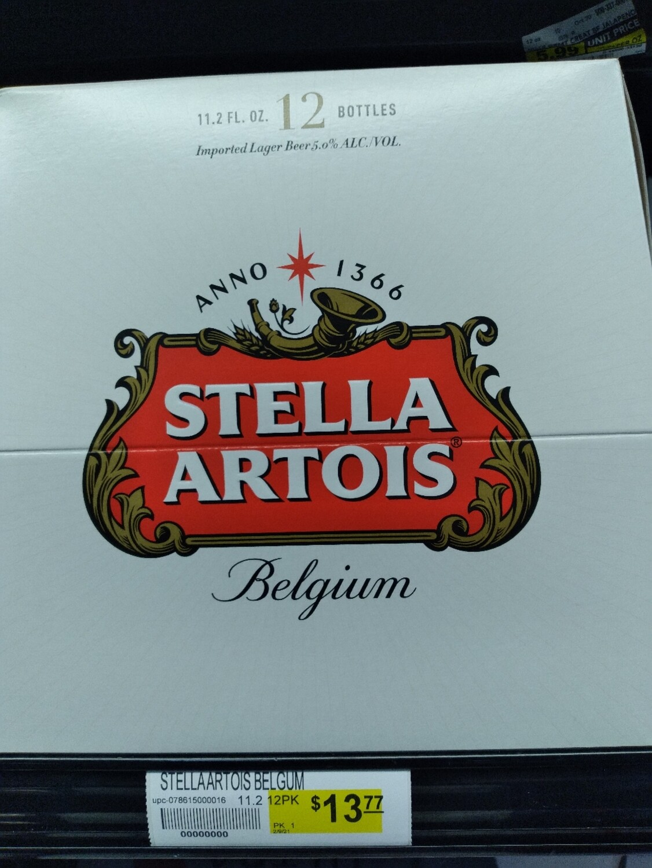Stella Artois (6, 12 Pack)