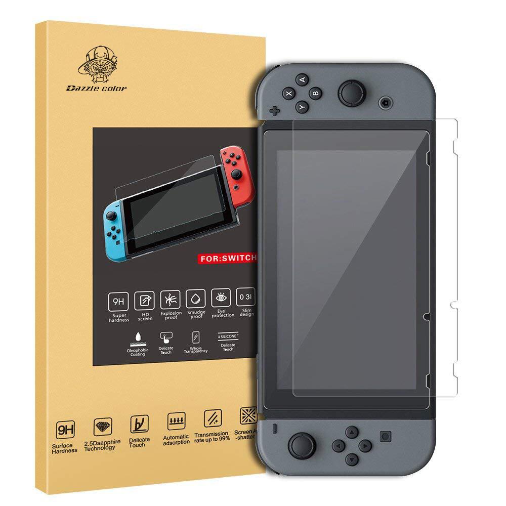 Epic Store Nintendo Switch 2 stk. Displayschutzfolie, Extrem dünne Bildschirmfolie, Härtegrad 9H, keine Bläschen bildung, Bruchsicher und Sicherheit vor Kratzern