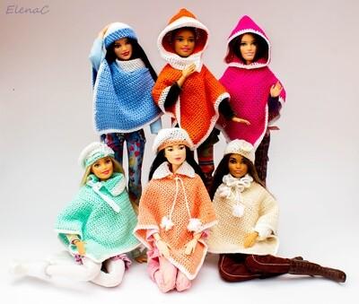 Poncho per Barbie