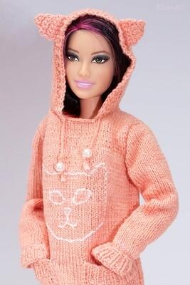Maglione Gattoso rosa